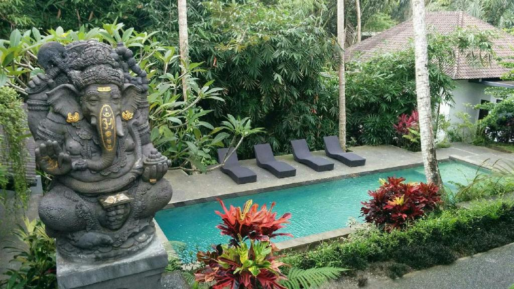 The swimming pool at or near The Bali Shanti