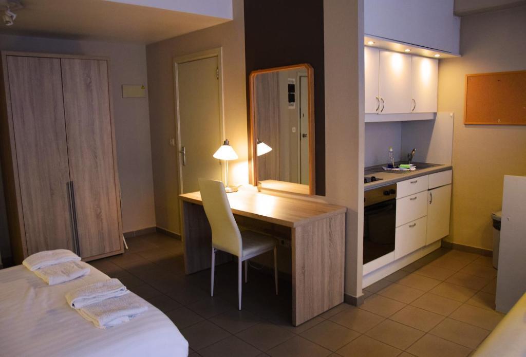 Køkken eller tekøkken på City Apartments Antwerpen