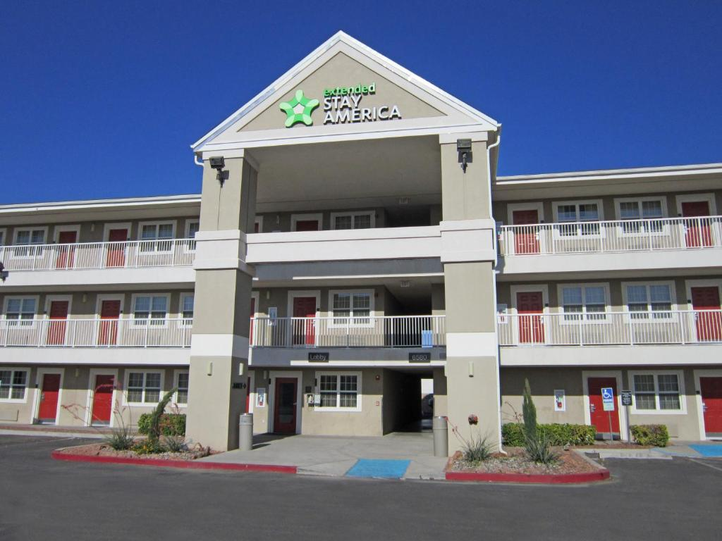 Extended Stay America El Paso Airport.