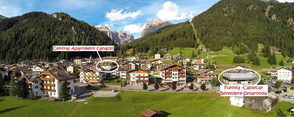 Central Apartment Canazei Italy Booking Com