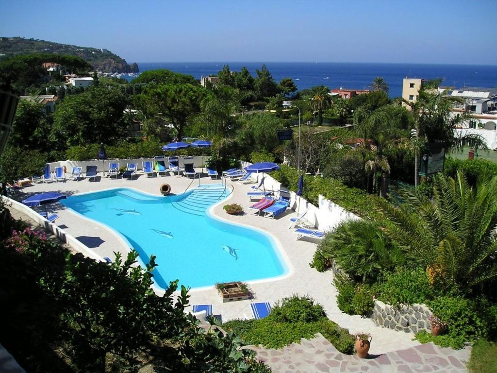 A view of the pool at Hotel Parco Conte or nearby
