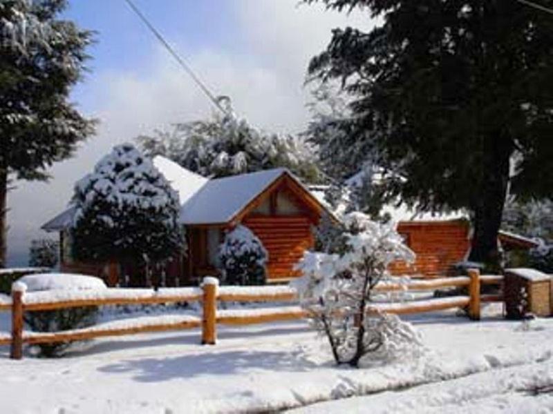 Cabañas Akermann durante el invierno