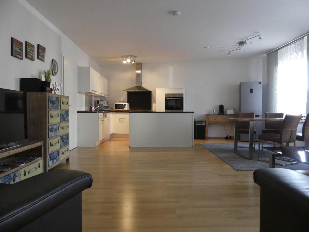 Küche/Küchenzeile in der Unterkunft Ferien Wohnung Soldic