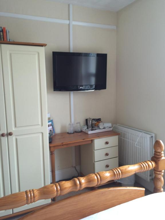 A television and/or entertainment center at Trelawney Guest House
