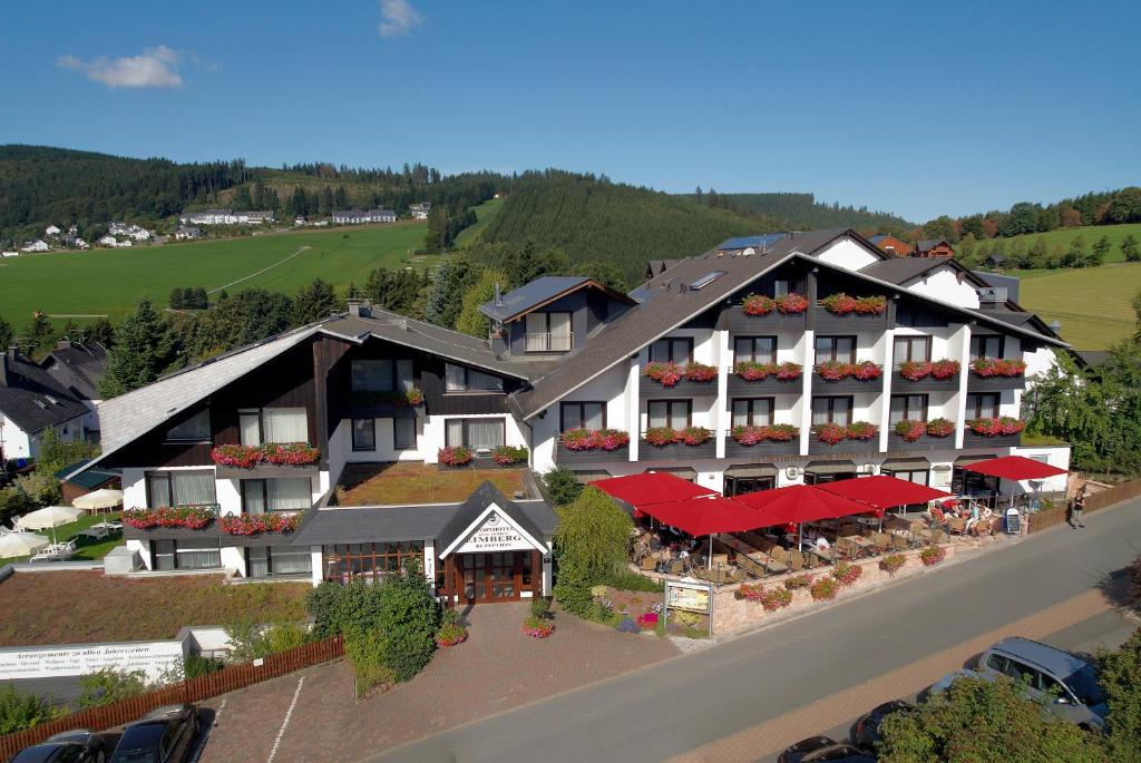 Blick auf Sporthotel Zum Hohen Eimberg aus der Vogelperspektive