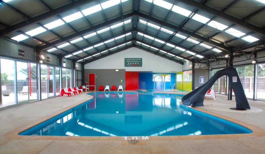 The swimming pool at or near BIG4 Bellarine Holiday Park