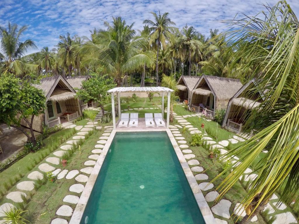 The swimming pool at or close to Villa Coco Republic