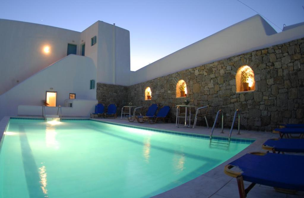 The swimming pool at or near Asteri Hotel