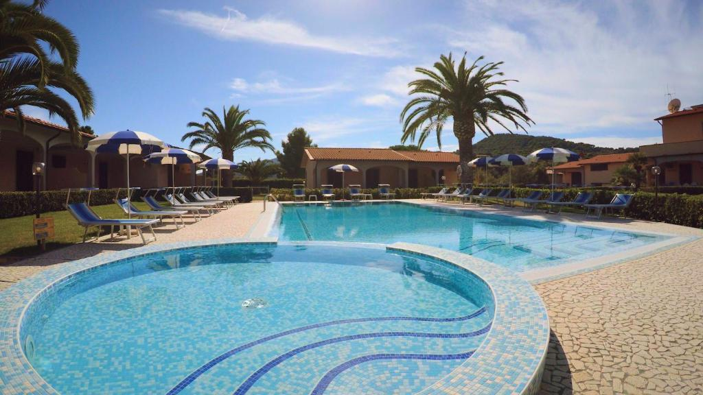 The swimming pool at or near Lido Azzurro Residence