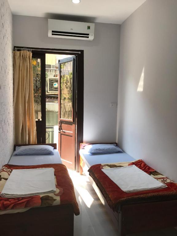 Phòng 2 Giường đơn với Ban công