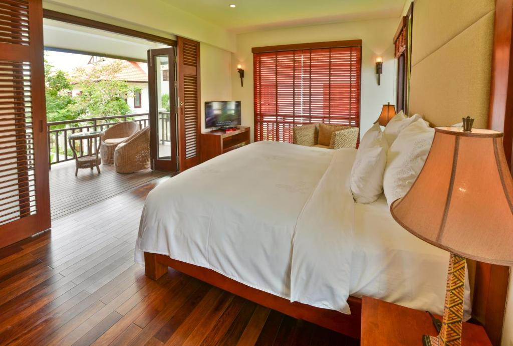 Biệt thự 1 Phòng ngủ có Hồ bơi và Spa