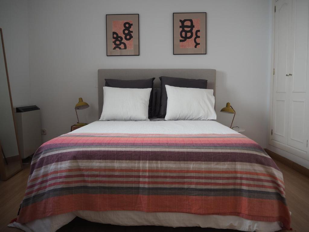 Ein Bett oder Betten in einem Zimmer der Unterkunft Apartment Callao