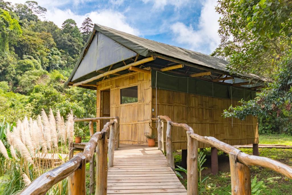 Edificio en el que se encuentra el camping resort