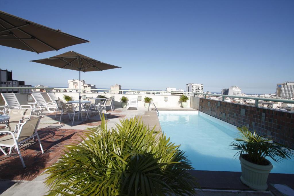 A piscina localizada em Américas Benidorm Hotel ou nos arredores