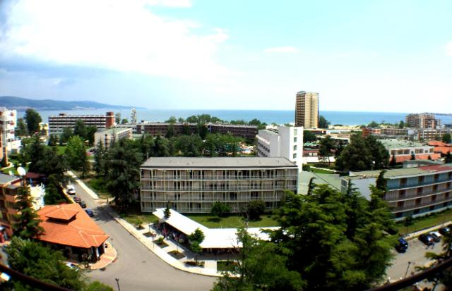A bird's-eye view of Hostel Tundja
