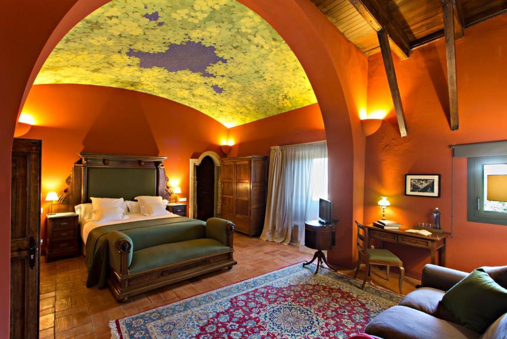 Cama o camas de una habitación en Encís d'Empordà -Adults Only-