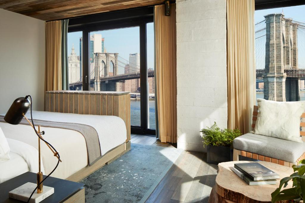 Image result for 1 hotel brooklyn bridge