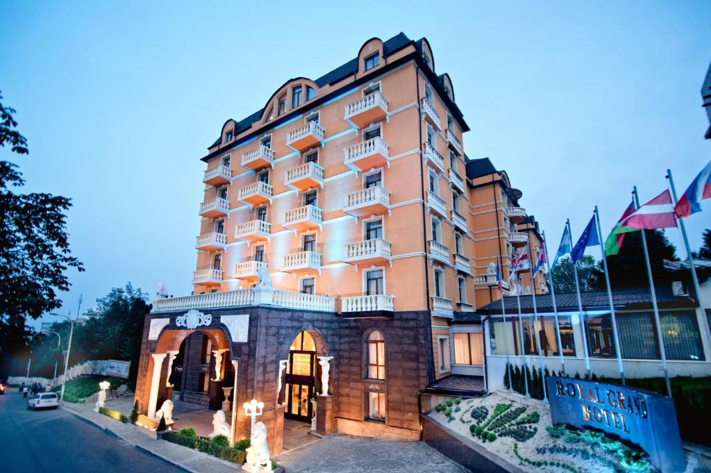 Будівля курортного готелю