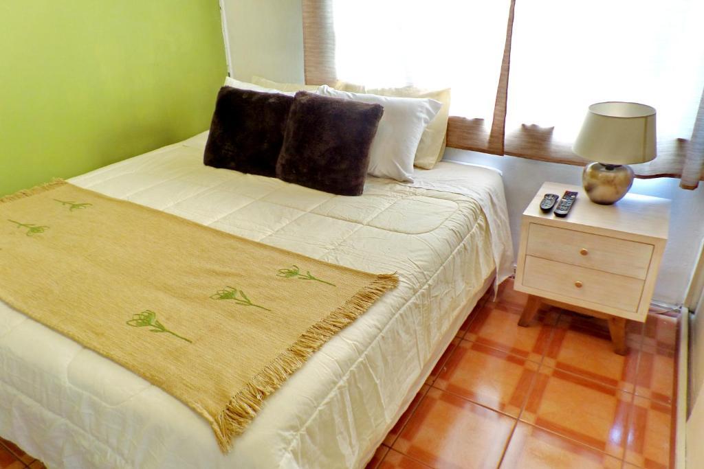 Cama o camas de una habitación en Portugal Luis y Daniel