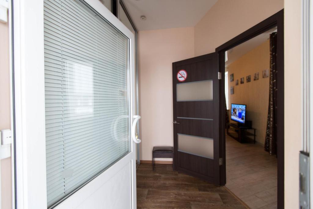 Телевизор и/или развлекательный центр в Hotel Complex Pervomayskiy