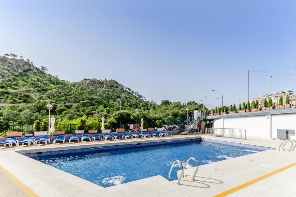 The swimming pool at or near Hotel Maya Alicante