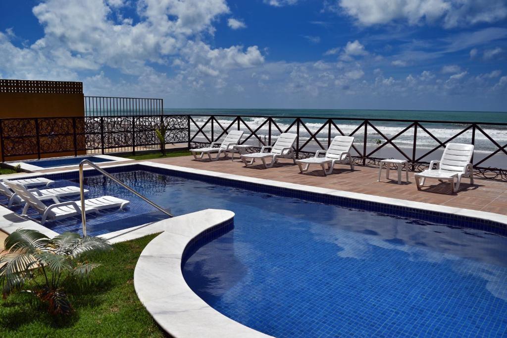 A piscina localizada em Pousada Maria Bonita Porto De Galinhas ou nos arredores