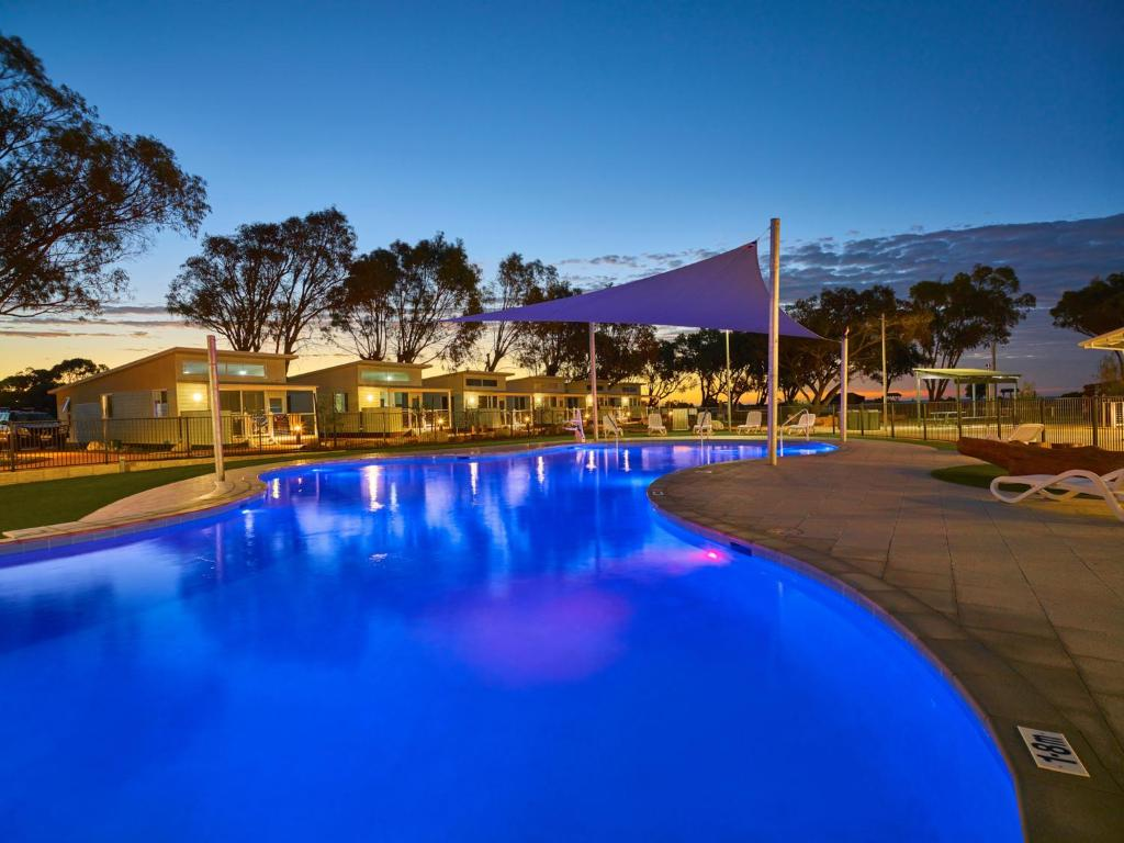 The swimming pool at or near RAC Cervantes Holiday Park