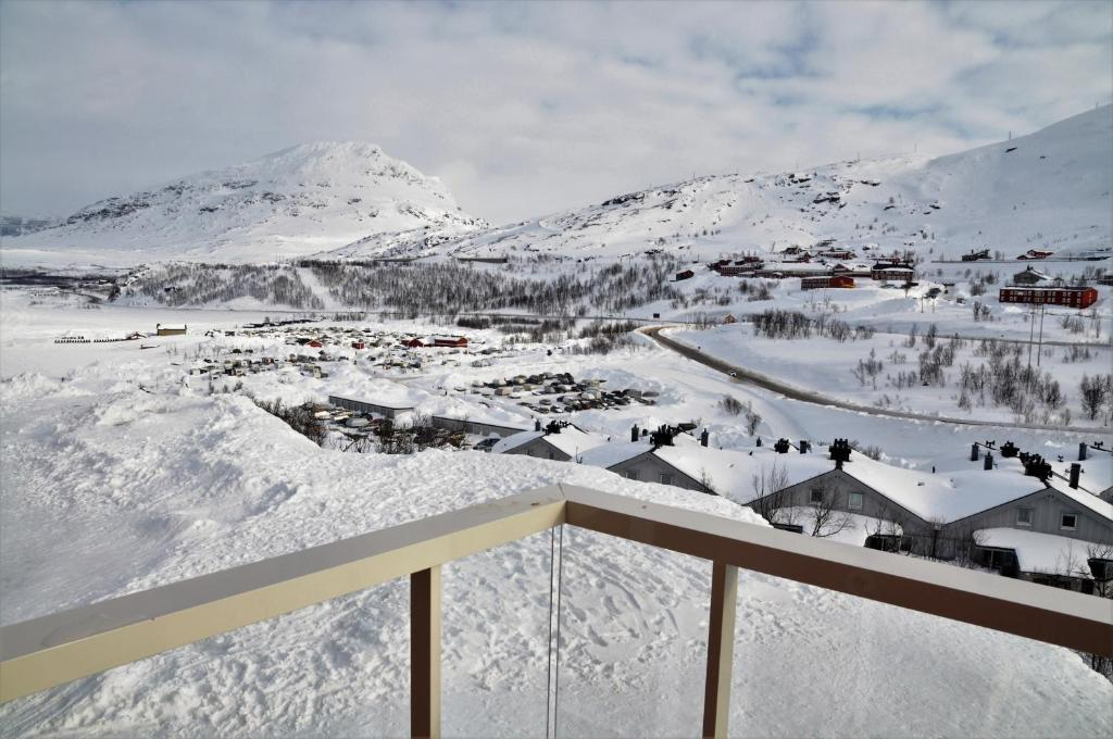 RIBO Apartment Riksgränsen under vintern