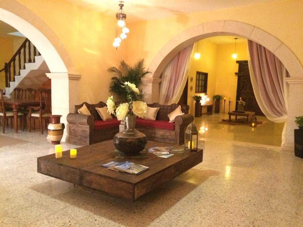 Hall ou réception de l'établissement Casa Mazejuwi