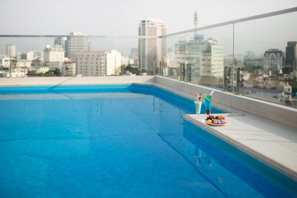 The swimming pool at or near The Light Hotel