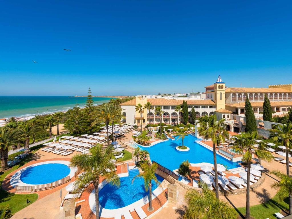 A view of the pool at Hotel Fuerte Conil-Resort or nearby