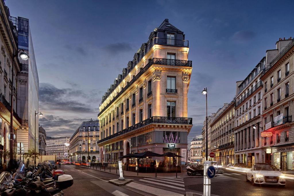 Hotel W Paris Opera France Booking Com