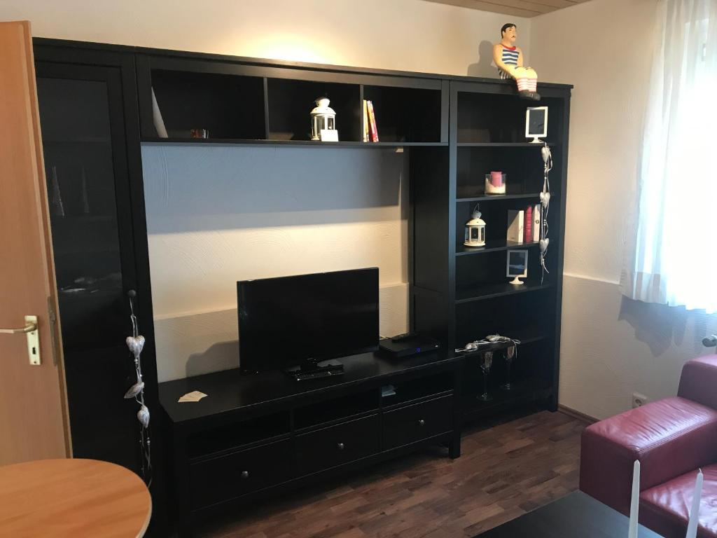 TV/Unterhaltungsangebot in der Unterkunft Apartment-Haus Milou