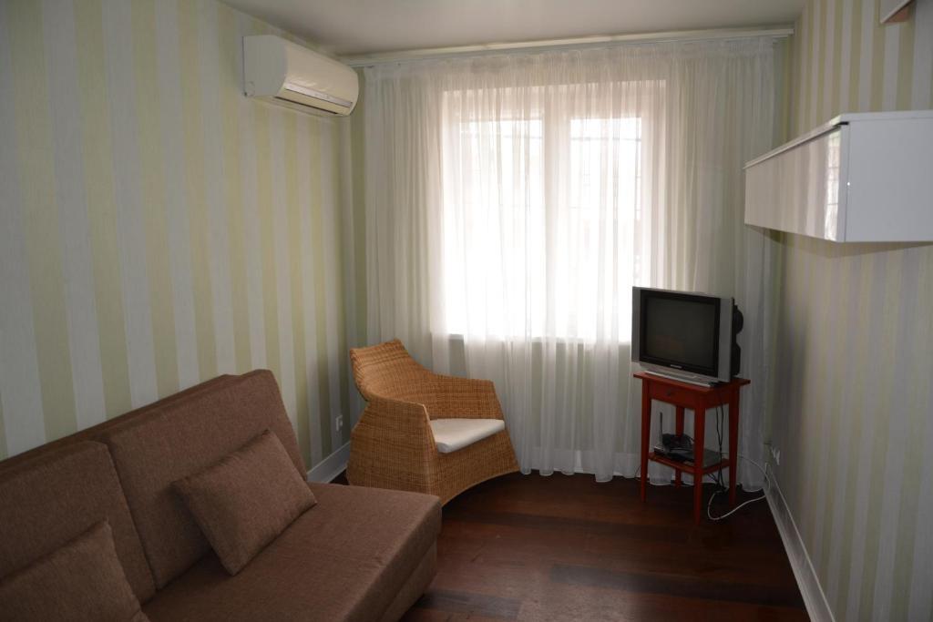 Гостиная зона в Guest House Barabulka