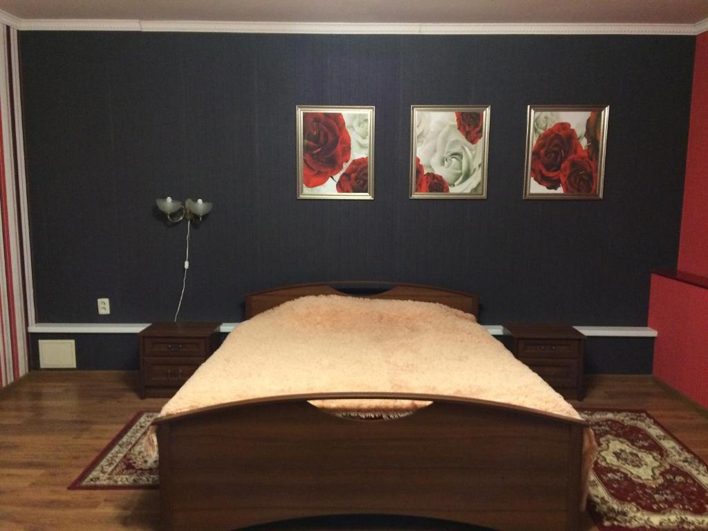 Un ou plusieurs lits dans un hébergement de l'établissement Mini-Hotel Profsouznaya