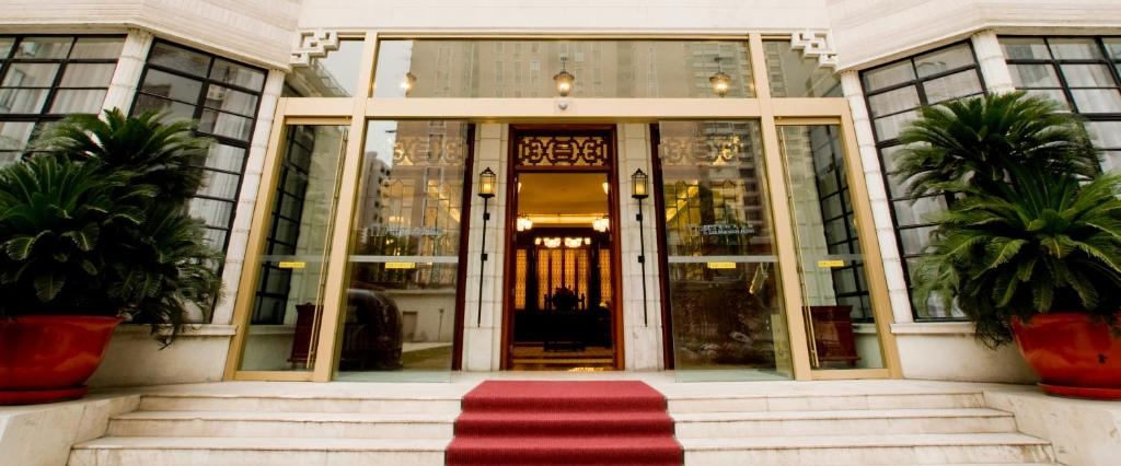 The facade or entrance of Pei Mansion Hotel