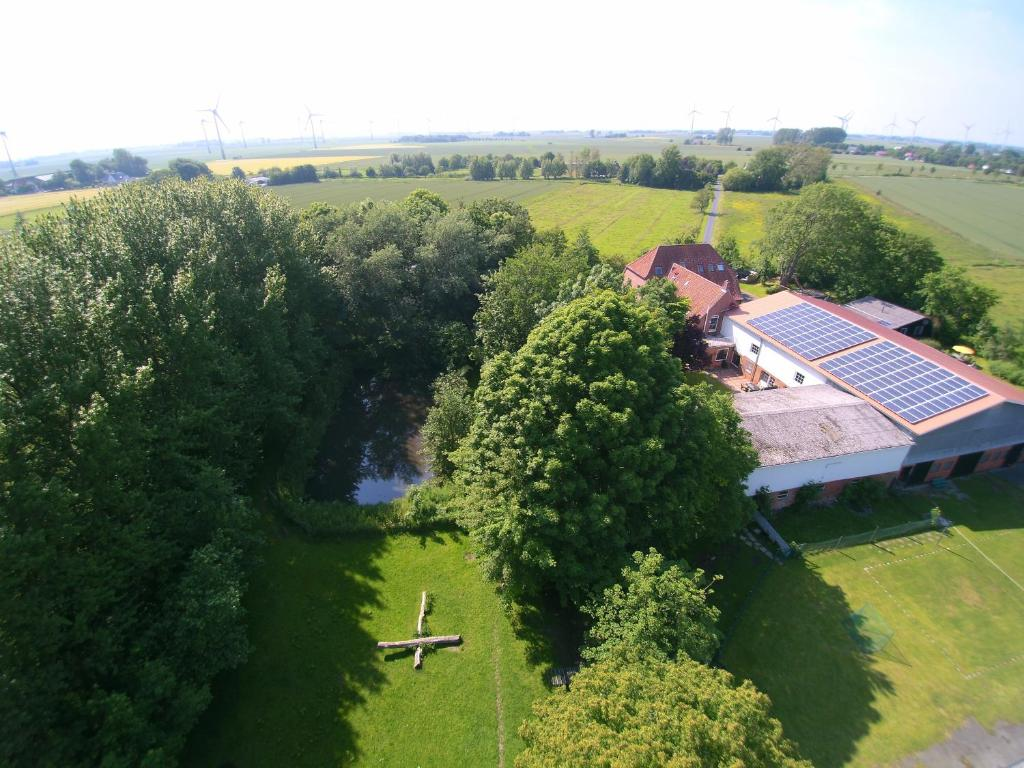 A bird's-eye view of Ferienhof Severin