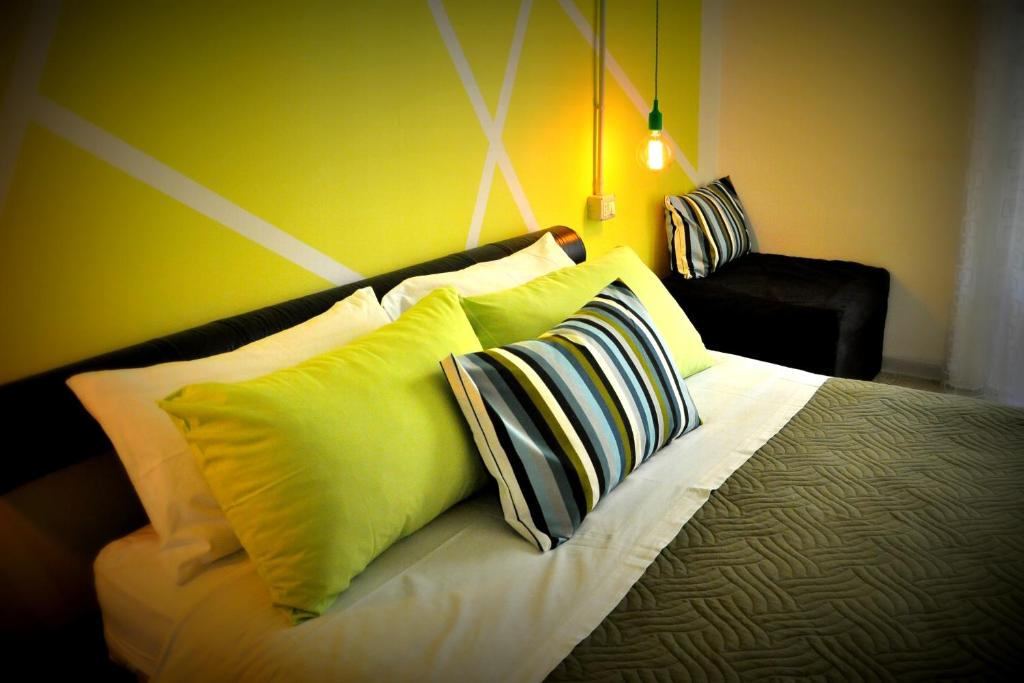 A bed or beds in a room at B&B 95 Spezie