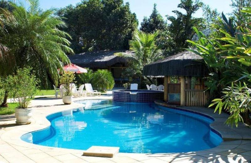 A piscina localizada em Pousada Bico Verde ou nos arredores