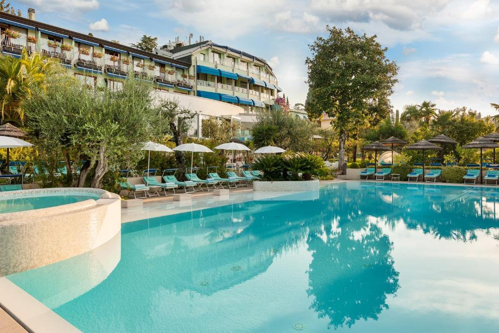 The swimming pool at or near Hotel Olivi Thermae & Natural Spa