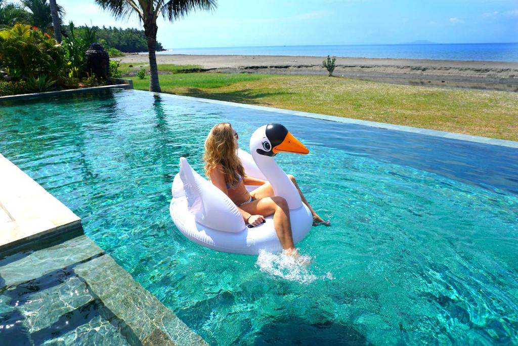 The swimming pool at or near Paradise West-Bali
