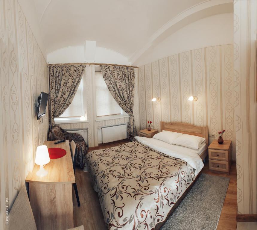 Cama o camas de una habitación en Nahimov