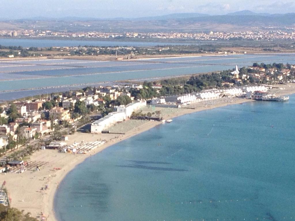 A bird's-eye view of Villa Simona
