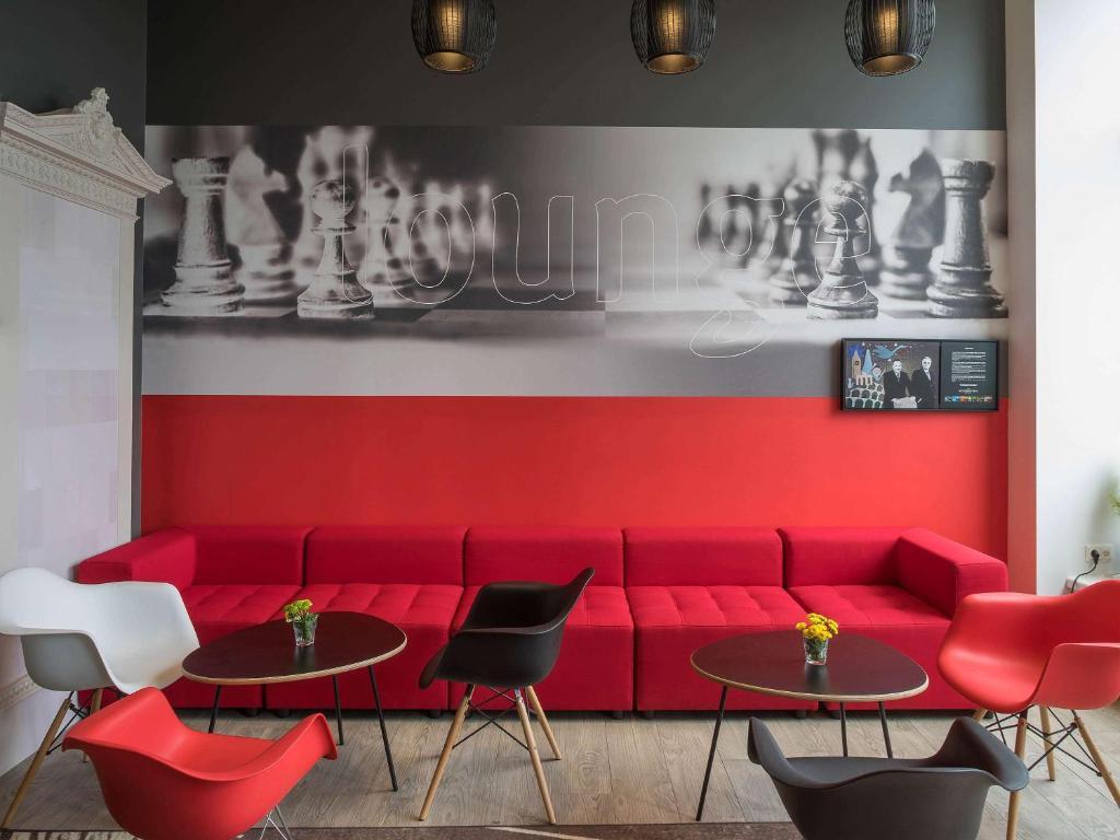 Лаундж или бар в Ibis Riga Centre