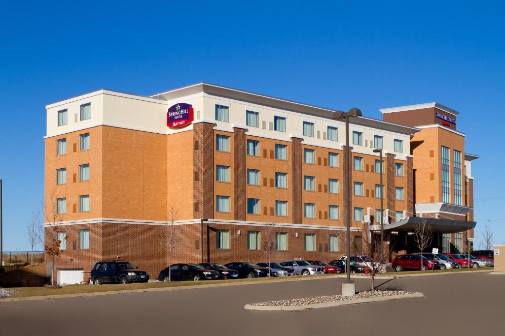 SpringHill Suites Minneapolis St Paul Airport Mall of America.