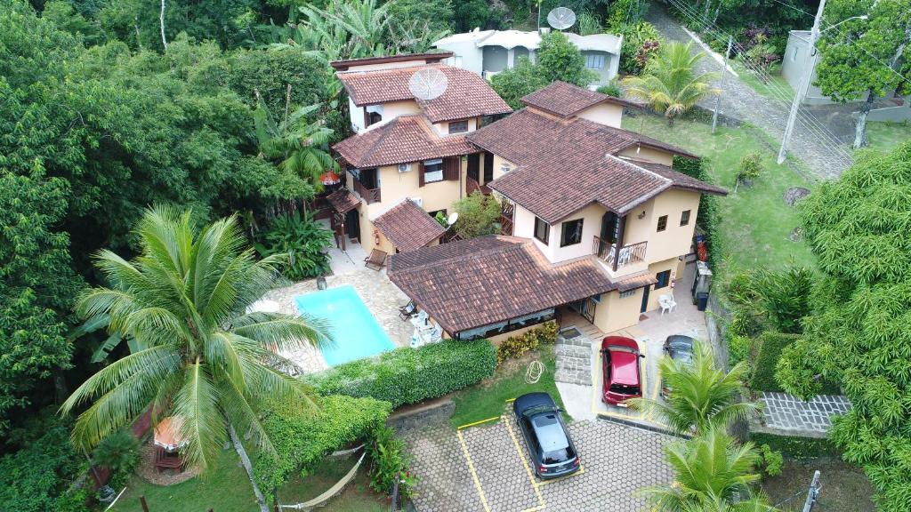 A bird's-eye view of Pousada Vila São Pedro