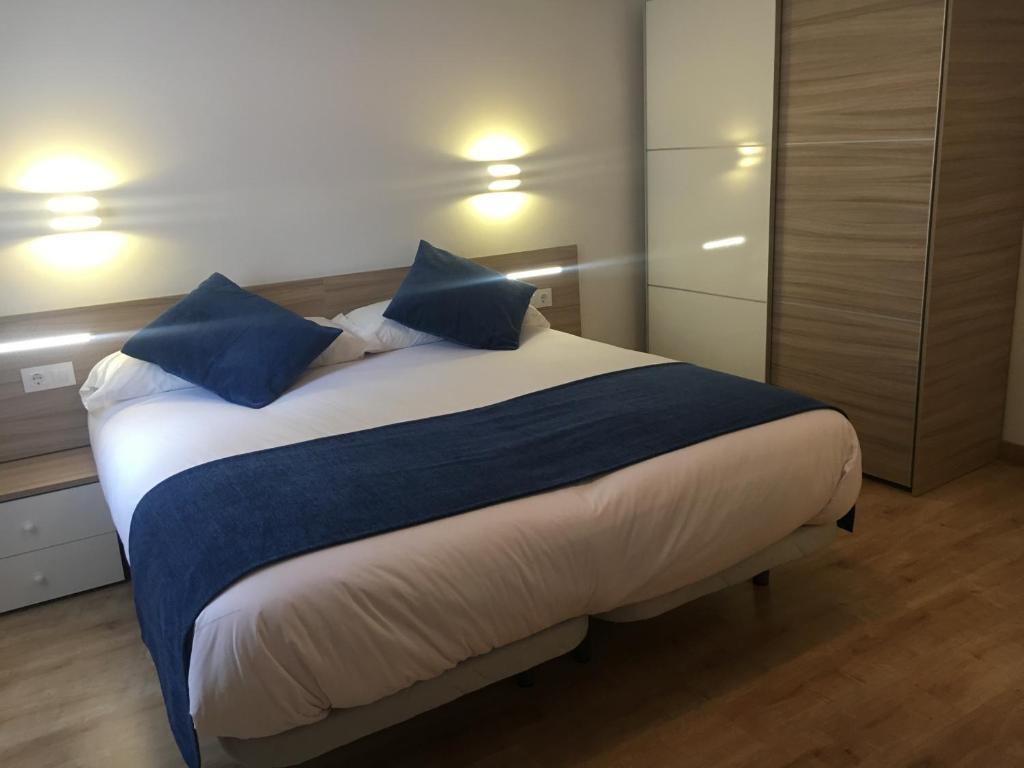 Cama o camas de una habitación en Hotel Marxant