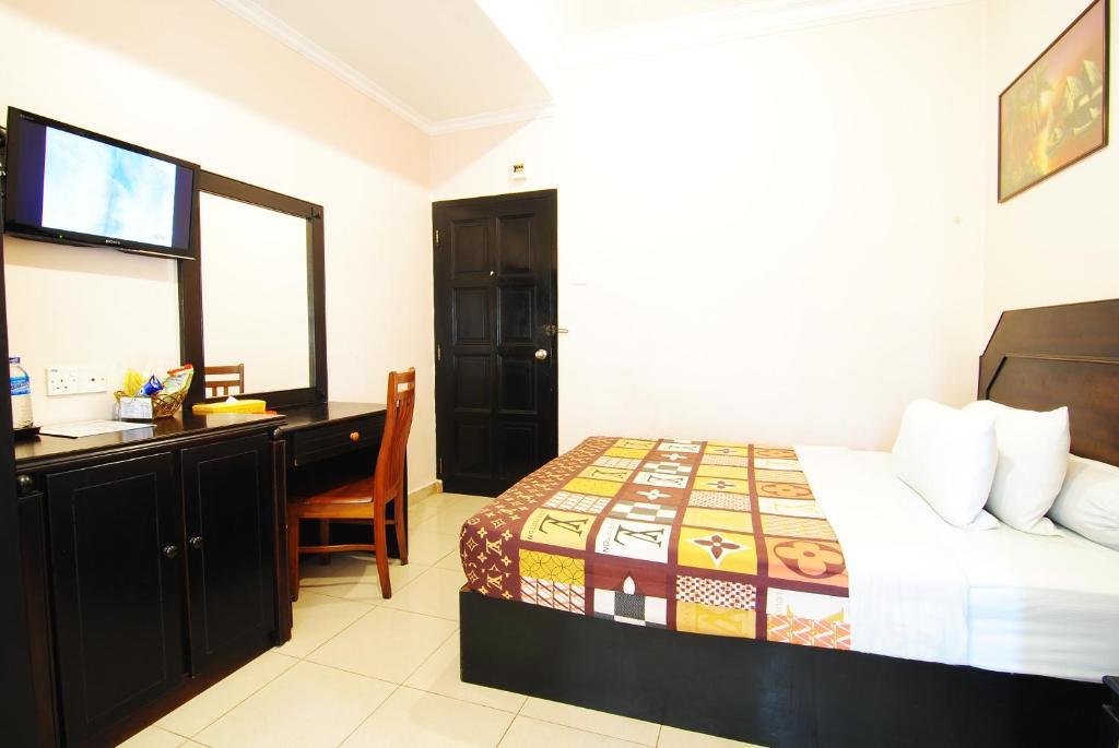 Un ou plusieurs lits dans un hébergement de l'établissement Hotel Panorama