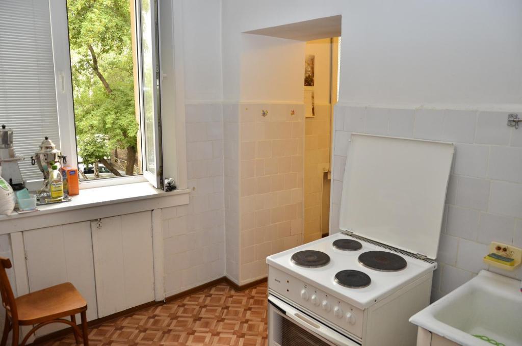 Кухня или мини-кухня в Комнаты Твэнти 7
