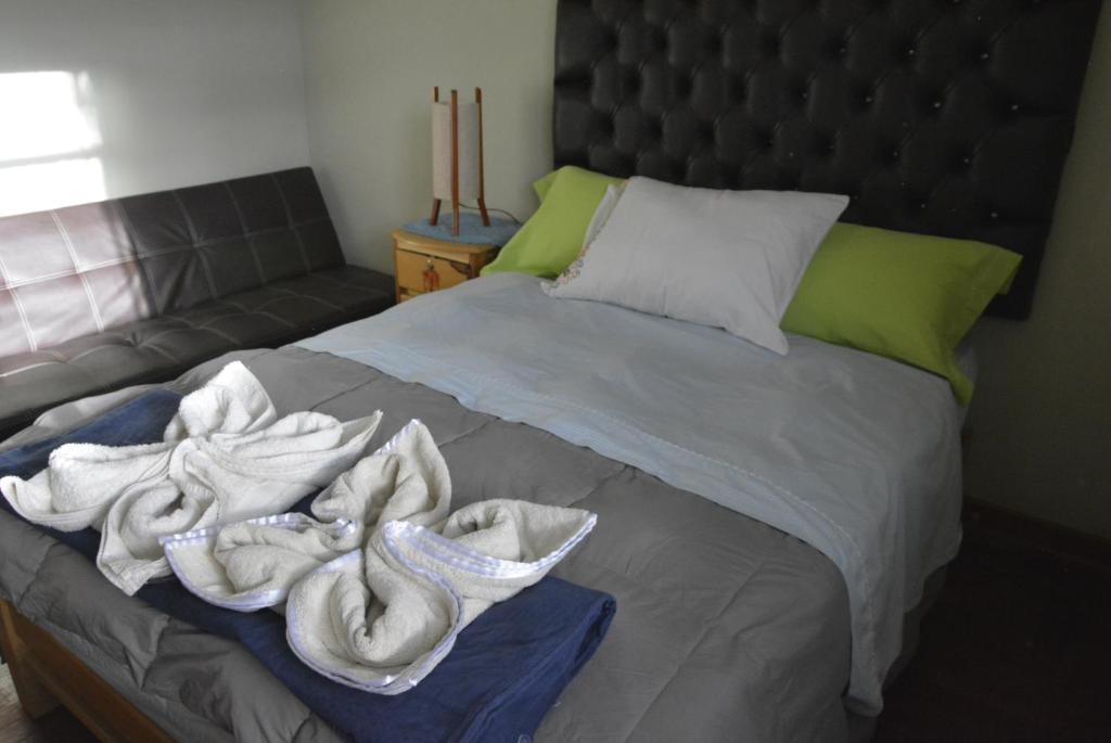 Cama o camas de una habitación en Cusco Historical Center